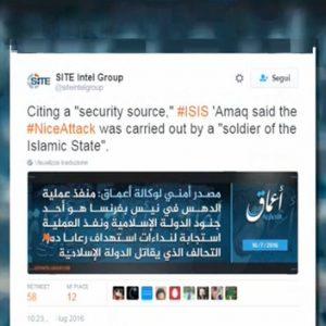 Nizza, Isis rivendica attentato