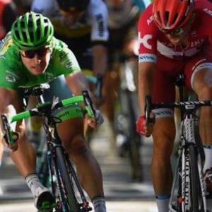Tour: tris Sagan, Berna ringrazia Cancellara