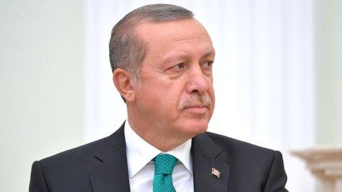 Turchia, Erdogan attacca Italia e Ue