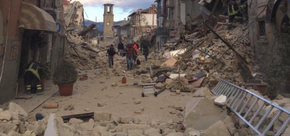 Terremoto, Amatrice: nuova scossa e crolli