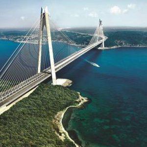 Bosforo: ecco il nuovo ponte dei record