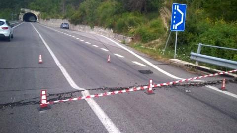 Terremoto: la viabilità su strade e ferrovie