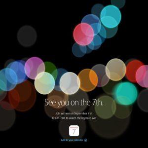 iPhone 7 arriva il 7 settembre: ora è ufficiale