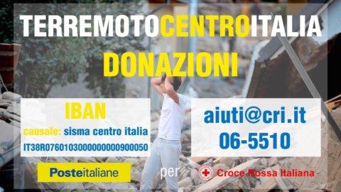 Terremoto, Poste italiane: raccolto 1 mln 650mila euro