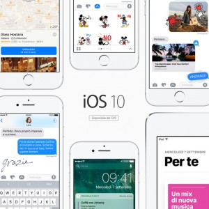 Apple, arriva iOS 10: al via i download dell'aggiornamento