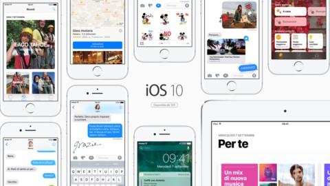 Apple, arriva iOS 10: al via i download dell'aggiornamento