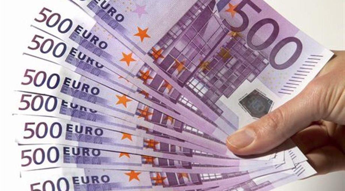 Soldi euro immagine di repertorio
