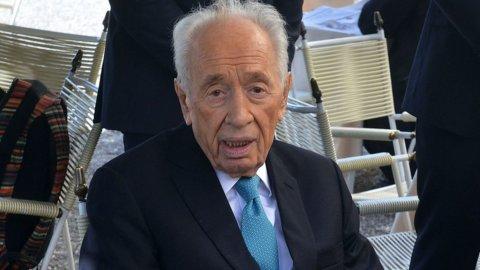Shimon Peres colto da ictus: sempre grave