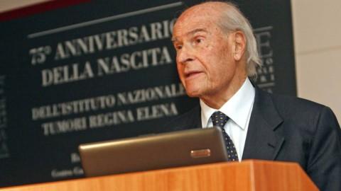 Morto l'oncologo Umberto Veronesi