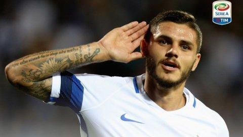 L'Inter espugna Empoli, goleada della Roma col Crotone