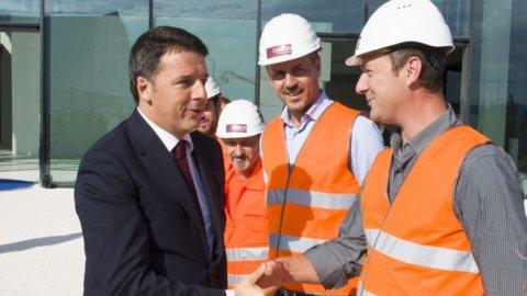 Renzi in Emilia visita Philip Morris, Lamborghini e Ducati