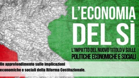 Referendum, l'Economia del Sì: cosa cambia per finanza pubblica e fisco