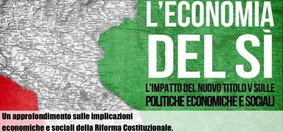 Referendum, l'economia del SI': il Made in Italy torna allo Stato