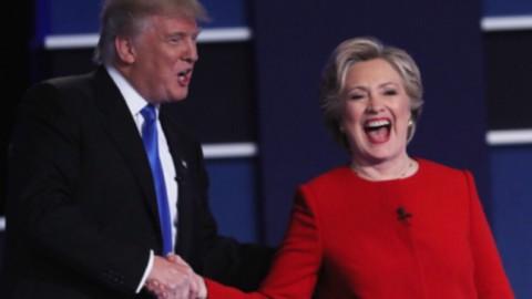 Usa 2016, Clinton vince primo duello con Trump