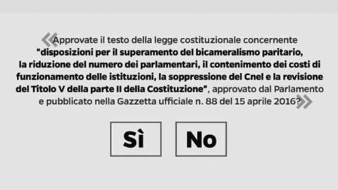 """Referendum: ricorso al Tar. Il Colle: """"La Cassazione ha già risposto"""""""