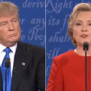Clinton-Trump, sfida tv al calor bianco