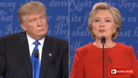 Trump-Clinton: scontro finale stanotte