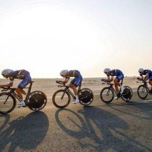 Ciclismo, la prima volta di un mondiale nel deserto