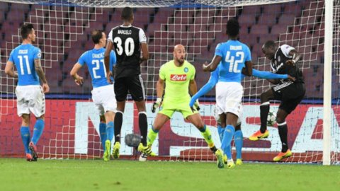 Crisi Napoli: cede anche al Besiktas (2-3)