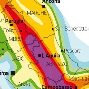 Ischia, la mappa del rischio sismico in Italia