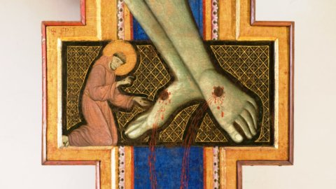 Perugia, esposta la più antica croce di san Francesco