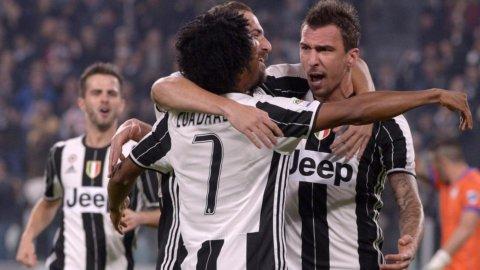 La Juve vince ma Roma e Napoli non mollano
