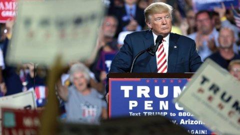 Trump: meno tasse per chi investe in Usa
