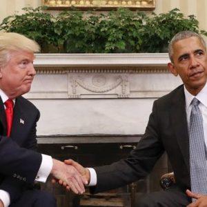 "Obama riceve Trump: ""Incontro eccellente"""