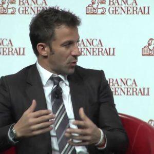 Banca Generali festeggia 10 anni in Borsa con Del Piero e Oldani