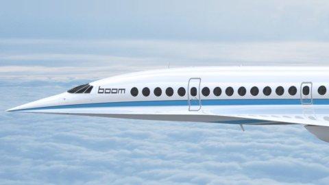 Arriva Boom, l'aereo che fa Londra-New York in tre ore