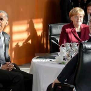 Obama, ultimo summit europeo a Berlino