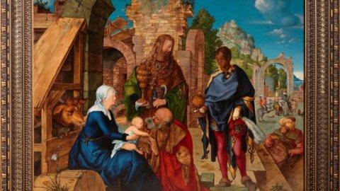 """Albrecht Dùrer: """"L'adorazione dei Magi"""" a Milano"""