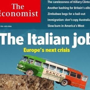 "L'Economist vota NO, Renzi ribatte: ""L'Europa ci vuole deboli"""