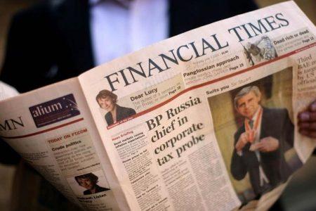 Financial Times, il dg restituisce 3 milioni al giornale