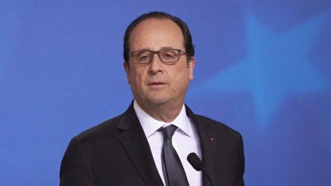 Francia, Hollande non si ricandiderà