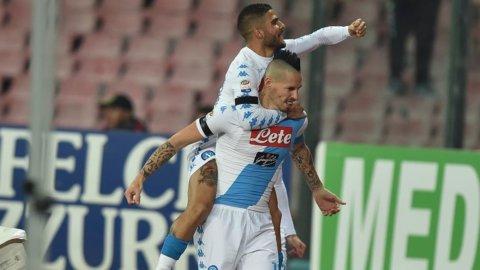 Il Napoli risorge, l'Inter sprofonda: 3-0