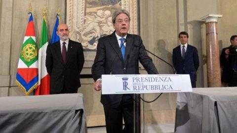 Governo Gentiloni, ecco i ministri: Alfano-Esteri, Minniti-Interno, Boschi-Palazzo Chigi
