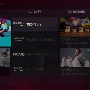 Vodafone Tv sbarca in Italia