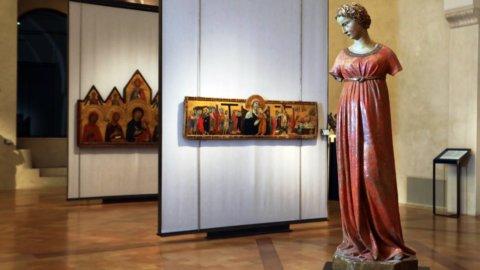 """""""L'Annunciata"""" la scultura di Jacopo della Quercia a Perugia"""