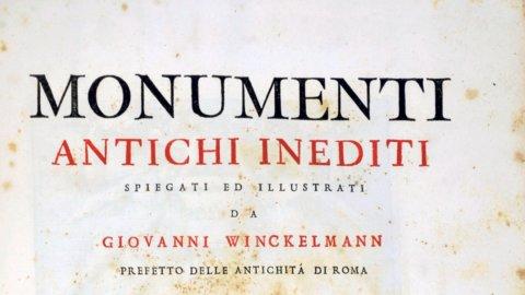 """Johann Joachim Winckelmann: """"Monumenti"""" al m.a.x"""