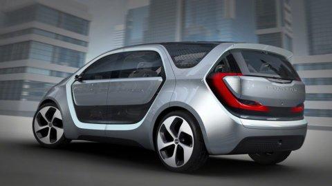 Fca svela Portal, l'auto 100% elettrica e a pilota semi-automatico