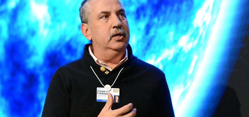 Globalizzazione, tecnologie, mercati, clima: per Friedman (3 premi Pulitzer) ce la faremo
