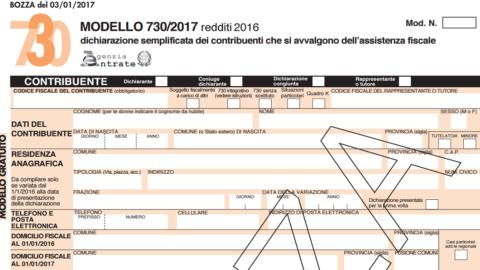 Modello 730 2017: le istruzioni dell'Agenzia delle Entrate