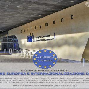 Sioi, Master in progettazione europea: al via la 50°edizione