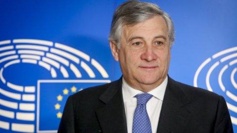 Parlamento Ue, Tajani eletto presidente