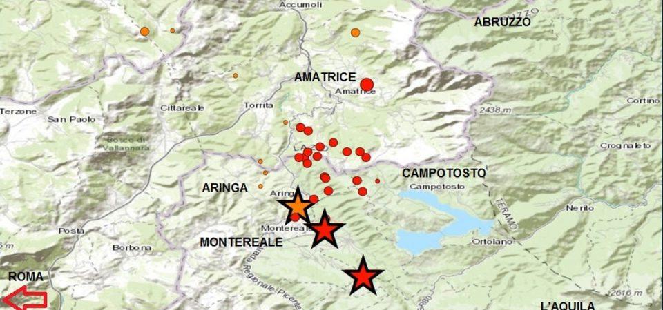 Terremoto e neve: ancora scosse, emergenza nel centro Italia