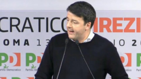 """Direzione Pd, Renzi lancia il congresso prima del voto: """"Scissione è ricatto morale"""""""