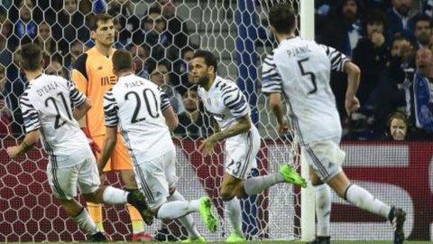 Champions, la Juve sbanca Oporto: 0-2