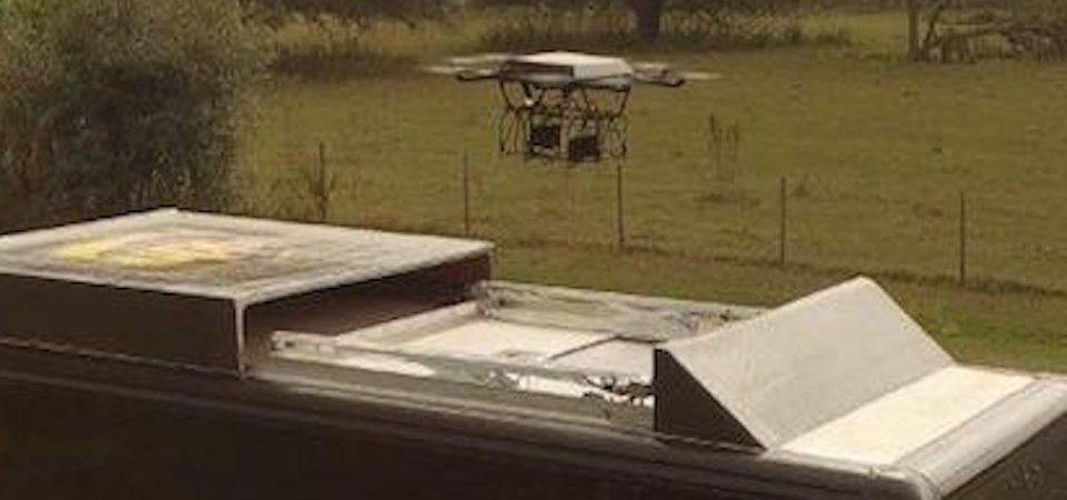 Ups come Amazon: il pacco lo consegna il drone