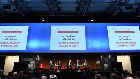 Eccellenze d'impresa, quarta edizione del premio Gea-Harward Business review